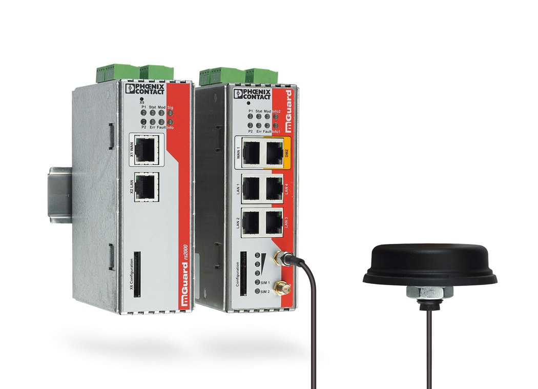 The security routers of the MGuard product range ensure the secure transmission of your data.