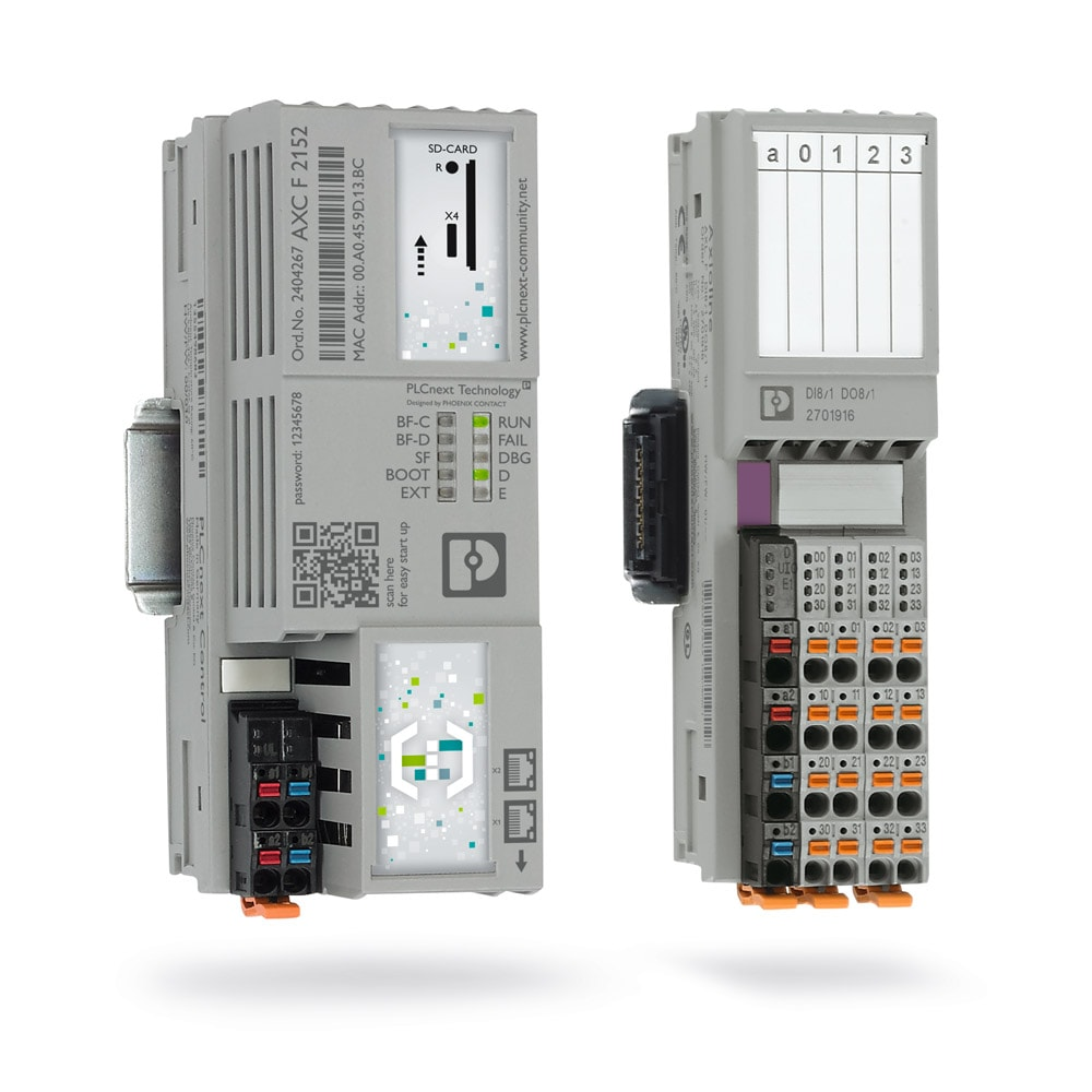 PLCs in accordance with IEC 61131